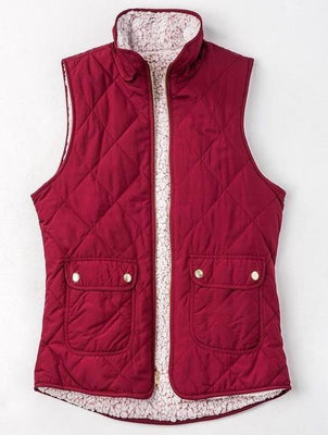 Double the Fun Reversible Vest - The Salty Mare