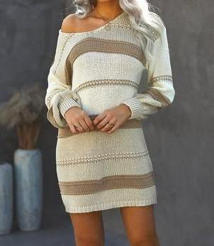 Santa Monica Sweater Dress - The Salty Mare