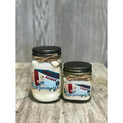 Mason Jar Candle - The Salty Mare