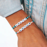Alphabet Bead Bracelet - The Salty Mare