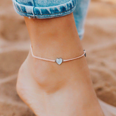 Heart of Pearl Anklet - The Salty Mare