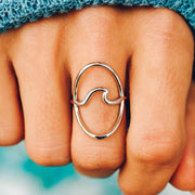 Statement Wave Ring - The Salty Mare