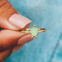 Sea Turtle Ring - The Salty Mare