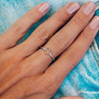Open Heart Ring - The Salty Mare