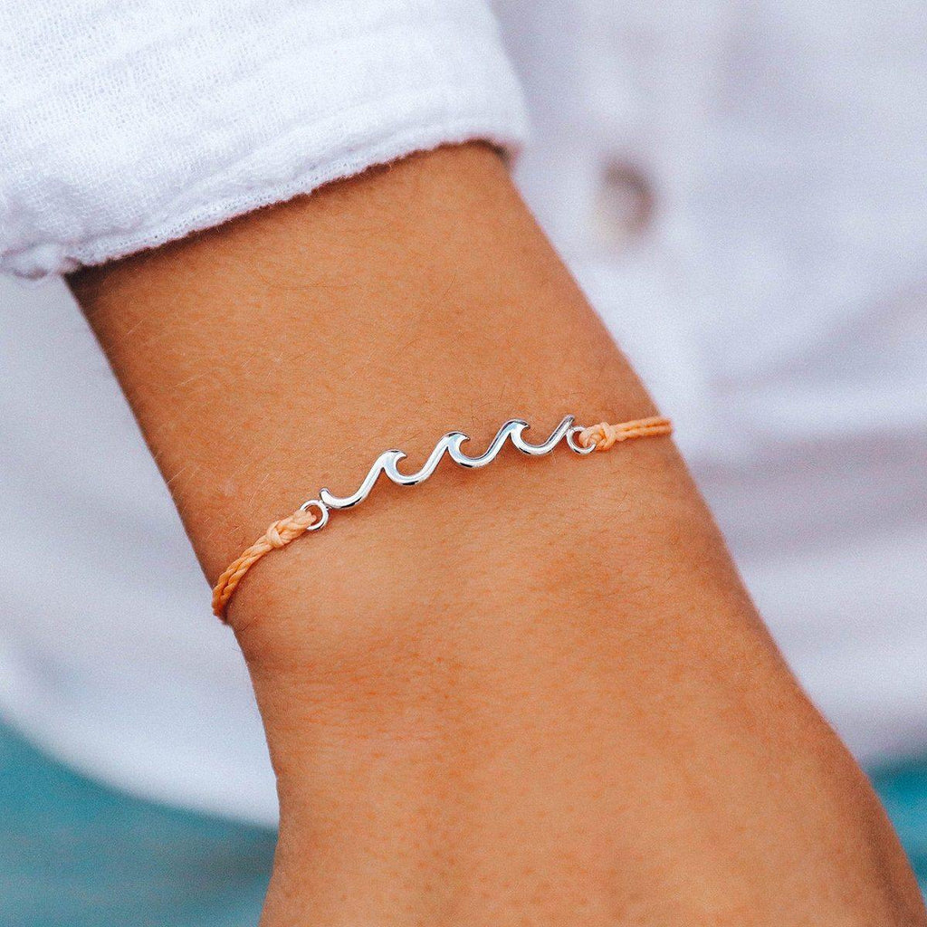 Delicate Wave Bracelet - The Salty Mare