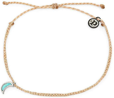 Crescent Moon Anklet - The Salty Mare