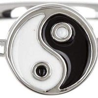 Yin Yang Enamel Ring - The Salty Mare