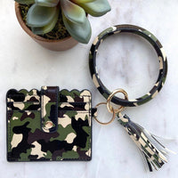Cardholder Key Ring - The Salty Mare