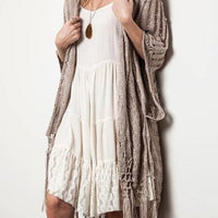 On the Fringe Cardigan - The Salty Mare
