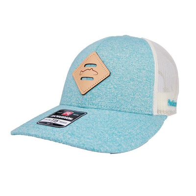Diamond Leather Redfish Patch Hat - The Salty Mare