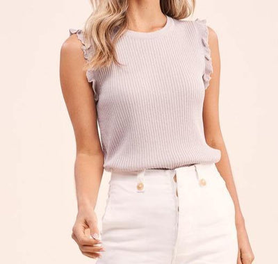 Kaitlyn Sleeveless Top - The Salty Mare
