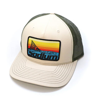 Sunset Patch Hat - The Salty Mare
