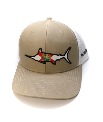 Marlin FL Flag Patch Hat - The Salty Mare