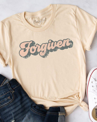 Retro Forgiven Short Sleeve Tee - The Salty Mare