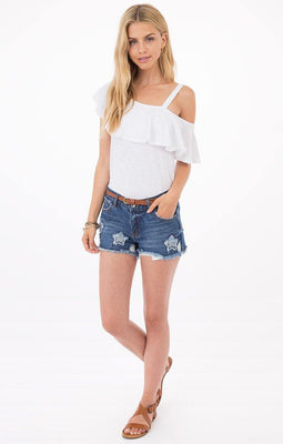 Kennedy Denim Short - The Salty Mare