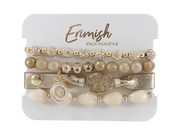 Snowflake Carded Bracelet Stack - The Salty Mare