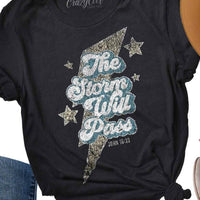 The Storm Will Pass Short Sleeve Tee - The Salty Mare