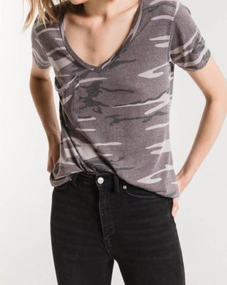 Camo Pocket Tee - The Salty Mare