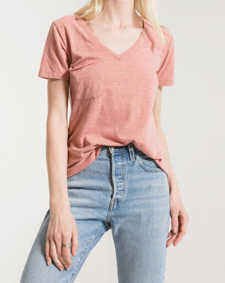 The Airy Slub Pocket Tee - The Salty Mare