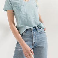 The Cotton Slub Pocket Tee - The Salty Mare