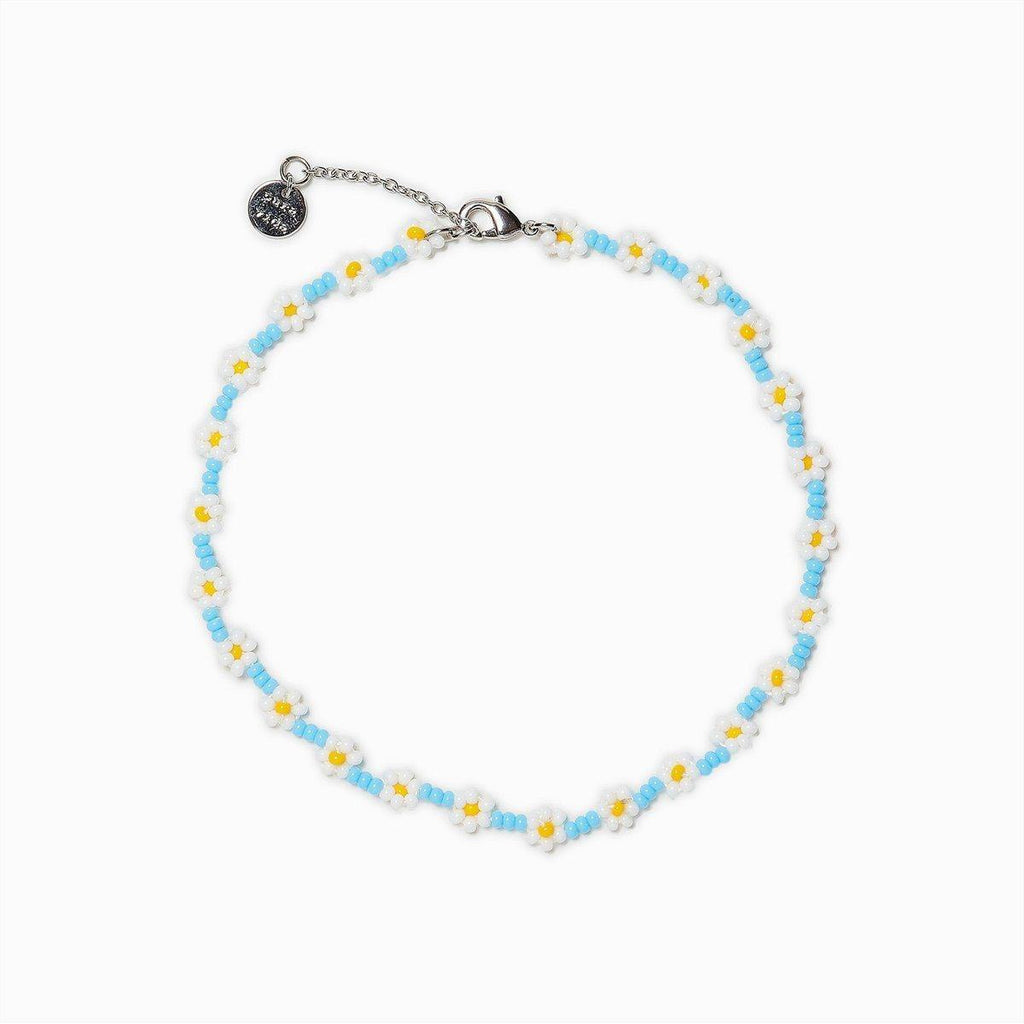 Daisy Seed Bead Anklet - The Salty Mare
