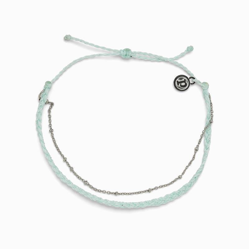 Satellite Chain Anklet - The Salty Mare