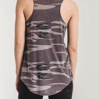 The Camo Pocket Racer Tank - The Salty Mare