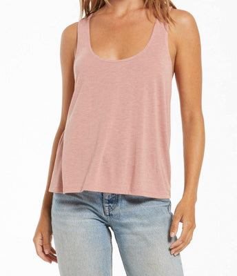 Sloane Racer Back Speckle Tank - The Salty Mare