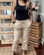 Key West Linen Pants - The Salty Mare