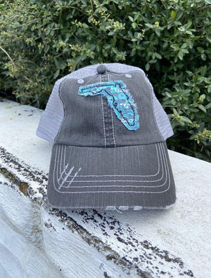 Camper Patch Florida Hat - The Salty Mare