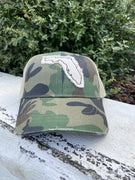 Classic Distressed Camo Florida Hat