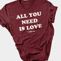 All You Need is Love Tee - The Salty Mare