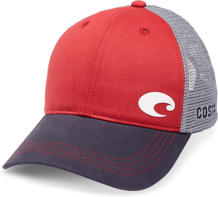 Offset Logo Trucker Hat - The Salty Mare