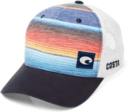 Baja Stripe Trucker - The Salty Mare