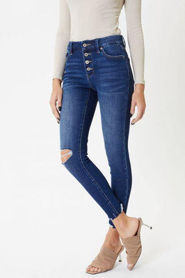 Jenny Mid Rise Ankle Skinny - The Salty Mare