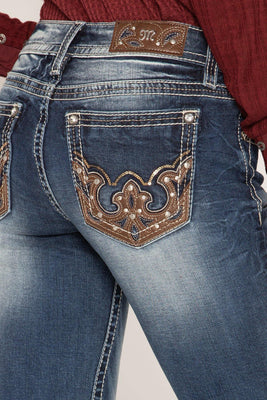 Cowgirl Flare Boot Cut Jeans - The Salty Mare