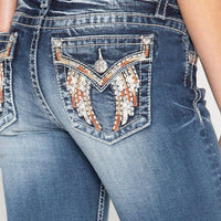 Sparkle Behavior Hailey Skinny Jeans - The Salty Mare