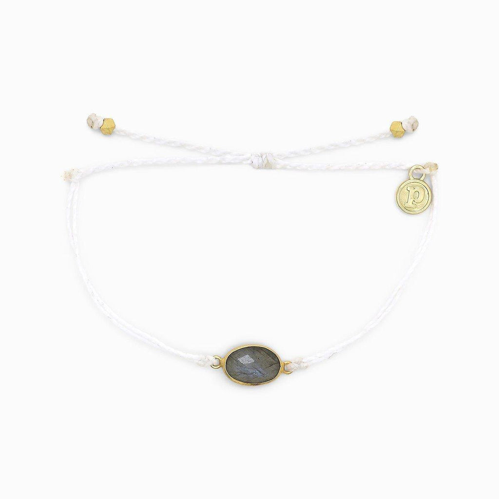 Oval Labradorite Bracelet - The Salty Mare