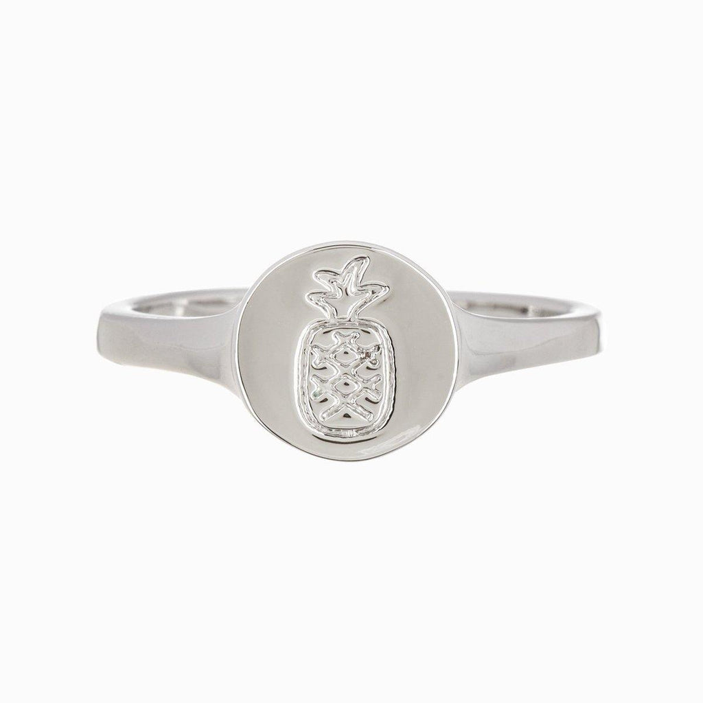Pineapple Coin Ring - The Salty Mare