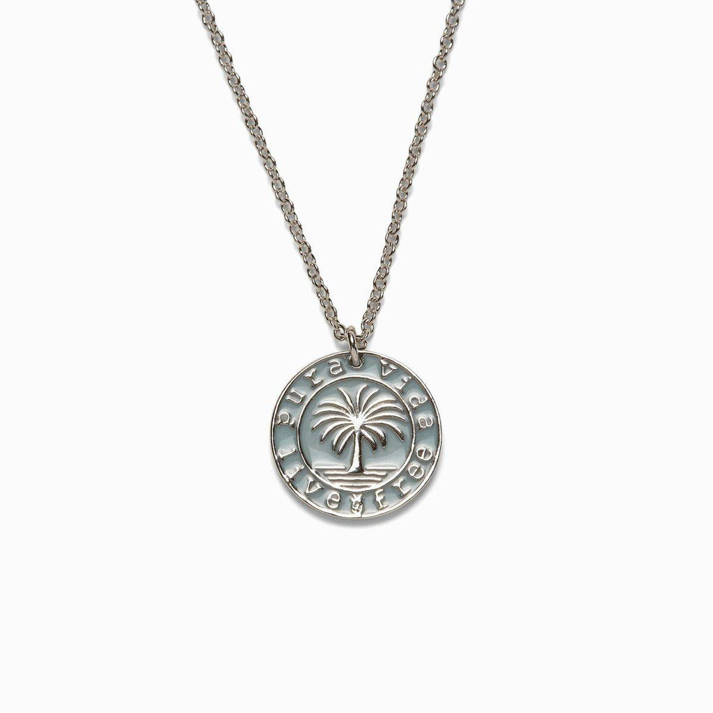 Pura Vida Medallion Necklace - The Salty Mare