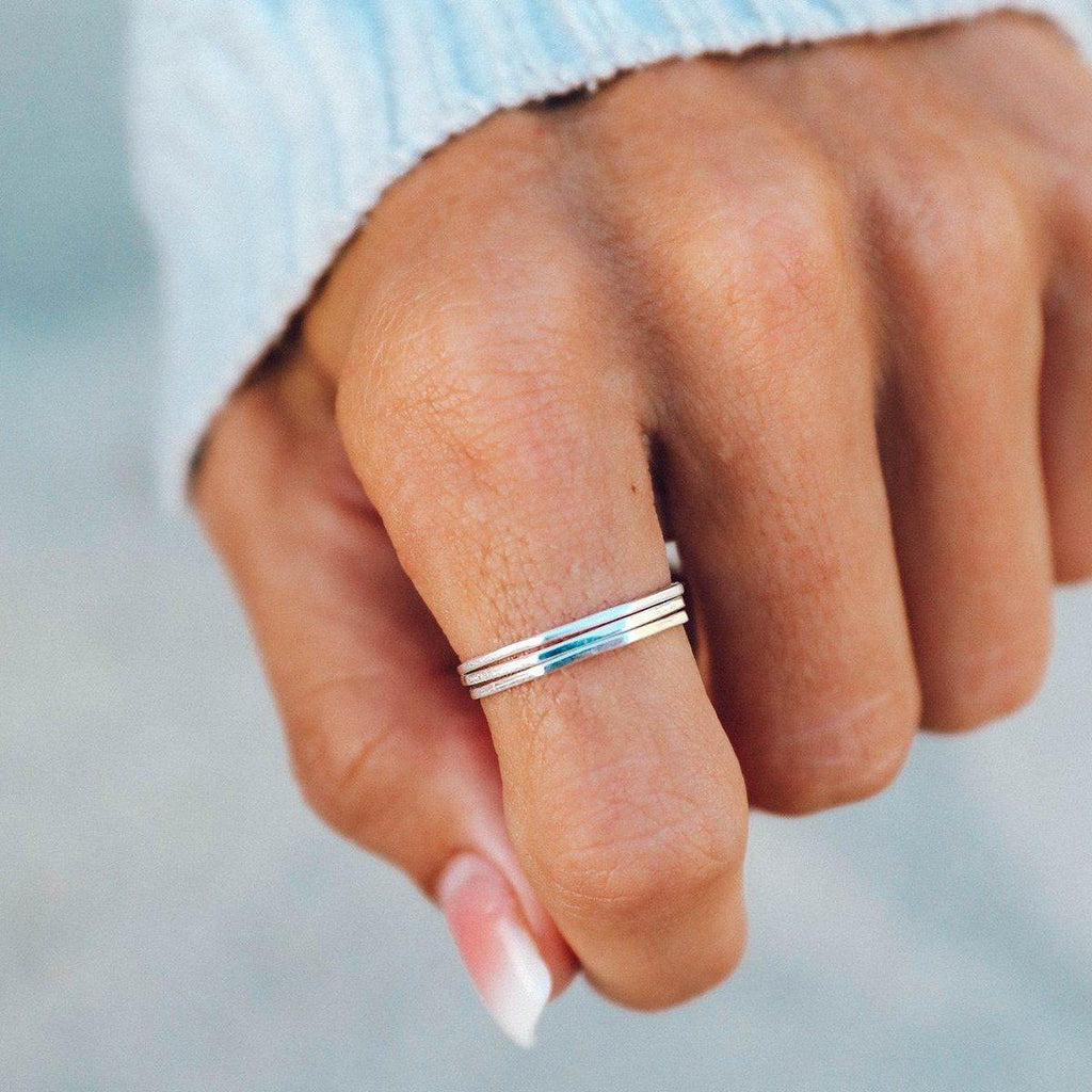 Delicate Stacked Rings - The Salty Mare