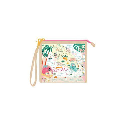 Clear Wristlet - The Salty Mare