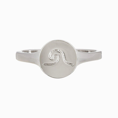 Wave Coin Ring - The Salty Mare