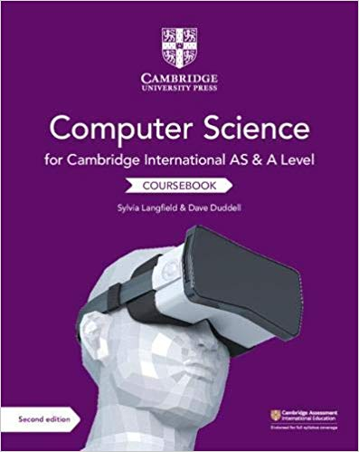 9781108733755, Cambridge International AS and A Level Computer Science Coursebook (NYP Due March 2019) - CIE SOURCE