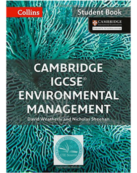 9780008190453, Cambridge IGCSE® Environmental Management Student's Book paperback