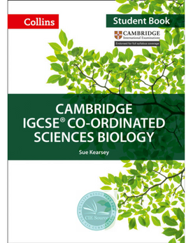 Cambridge IGCSE® Co-Ordinated Sciences Biology Student Book paperback