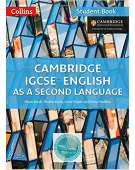 9780008197261, Cambridge IGCSE® English as a Second Language Student Book paperback - CIE SOURCE