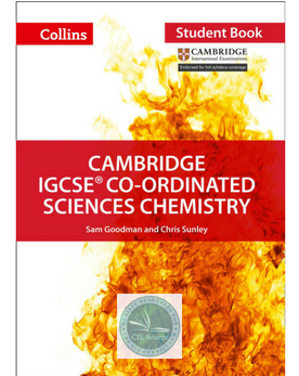 Cambridge IGCSE® Co-Ordinated Sciences Chemistry Student Book paperback