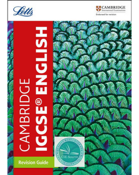 9780008210366, Cambridge IGCSE® English Revision Guide (New 2018)