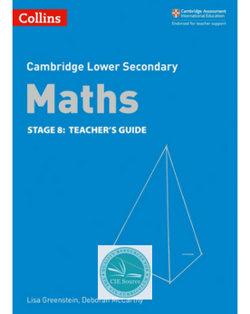 9780008213541, Cambridge Lower Secondary Maths Teacher's Guide Stage 8 paperback (New 2018)